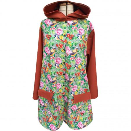 Manteau outdoor avec capuche pour femme Gazouillis exclusivité Augustine Métro