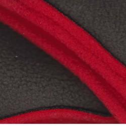 Poncho adulte avec capuche imprimé Isocèle en softshell  doublé polaire détail