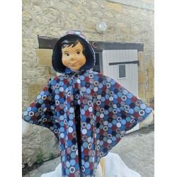 Veste Piet numéro 36 en polaire double face peut être portée sur l'envers Détail