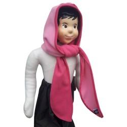 Poncho Rosie en softshell imperméable et coupe le vent